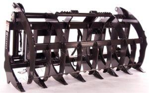 Bradco Skid Steer Root Rake & Grapple