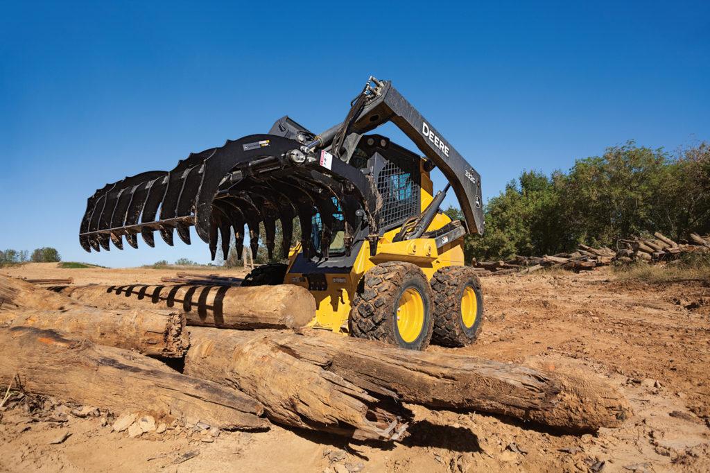 John Deere Root Rake for Skid Steers